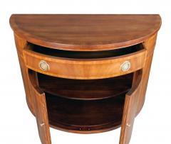 A Shapely Pair of English Edwardian Mahogany Cabinets - 1990884
