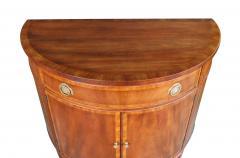 A Shapely Pair of English Edwardian Mahogany Cabinets - 1990886
