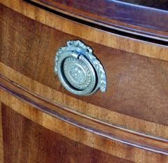 A Shapely Pair of English Edwardian Mahogany Cabinets - 1990887