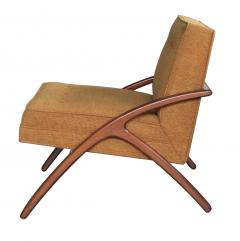 A Sleek and Stylish Pair of American 1960s Ash Grasshopper Chairs - 533467