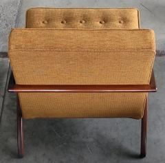 A Sleek and Stylish Pair of American 1960s Ash Grasshopper Chairs - 533469