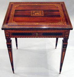 A Small Florentine Game Desk with Mechanical Features - 270996