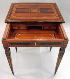 A Small Florentine Game Desk with Mechanical Features - 270997