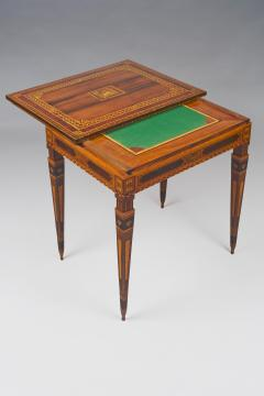 A Small Florentine Game Desk with Mechanical Features - 270999