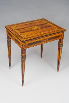 A Small Florentine Game Desk with Mechanical Features - 271000