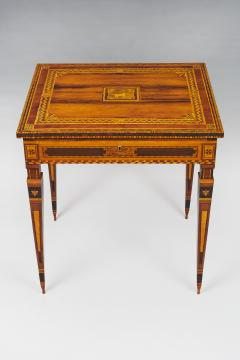 A Small Florentine Game Desk with Mechanical Features - 271001