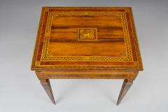 A Small Florentine Game Desk with Mechanical Features - 271002