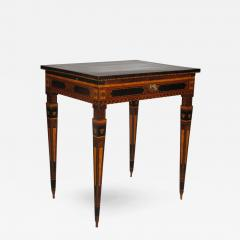 A Small Florentine Game Desk with Mechanical Features - 272148