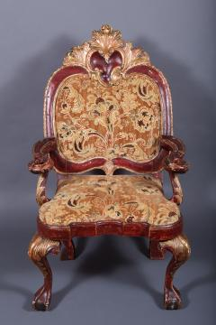 A Spanish Colonial Armchair Nueva Granada ca 1750 - 44173