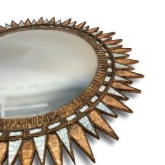 A Starburst form convex mirror in the manner of Line Vautrin - 1499578