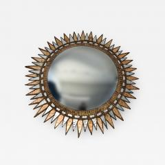 A Starburst form convex mirror in the manner of Line Vautrin - 1500507