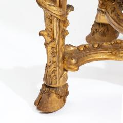 A Superb Pair Of Giltwood Console Tables With Original Marble Tops - 1226793