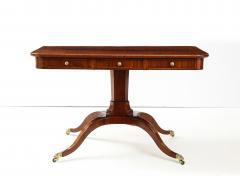 A Swedish Empire Mahogany Sofa Table Circa 1820s - 2135292