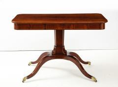 A Swedish Empire Mahogany Sofa Table Circa 1820s - 2135297