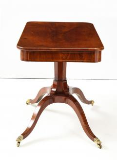 A Swedish Empire Mahogany Sofa Table Circa 1820s - 2135298