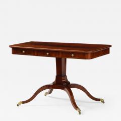 A Swedish Empire Mahogany Sofa Table Circa 1820s - 2138951