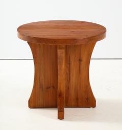 A Swedish Modernist Solid Pine Side Table Circa 1930 40 - 1690281