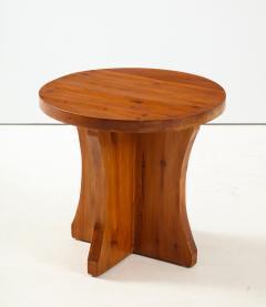 A Swedish Modernist Solid Pine Side Table Circa 1930 40 - 1690283