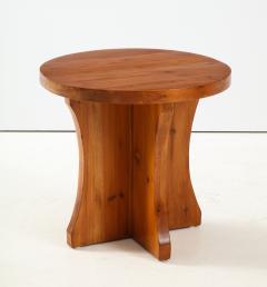 A Swedish Modernist Solid Pine Side Table Circa 1930 40 - 1690284