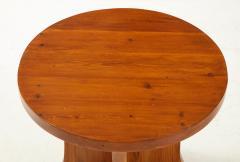 A Swedish Modernist Solid Pine Side Table Circa 1930 40 - 1690285