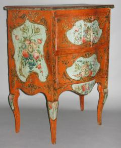 A Two Drawer Sicilian Lacquered Chest - 115565