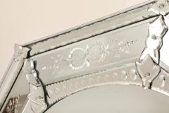 A Venetian Etched Glass Mirror - 189008