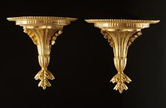 A Very Fine Pair of Georgian Giltwood Wall Brackets - 613144