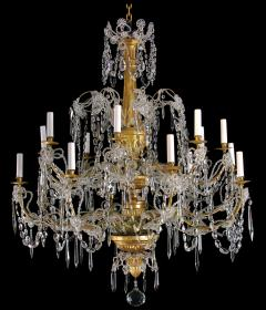 A Very Rare Pair of Chandeliers with 16 Lights - 270052