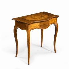 A Victorian inlaid satinwood and kingwood table in the style of Hepplewhite - 1846418