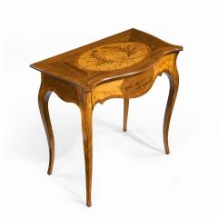 A Victorian inlaid satinwood and kingwood table in the style of Hepplewhite - 1846423