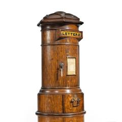 A Victorian oak country house letterbox by Rodrigues 1872 - 1506555