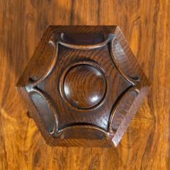 A Victorian oak country house letterbox by Rodrigues 1872 - 1506558