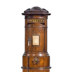 A Victorian oak country house letterbox by Rodrigues 1872 - 1506560