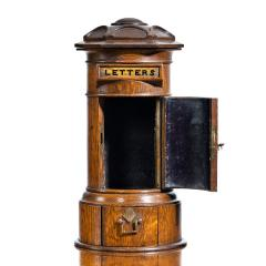 A Victorian oak country house letterbox by Rodrigues 1872 - 1506561