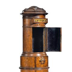 A Victorian oak country house letterbox by Rodrigues 1872 - 1506562