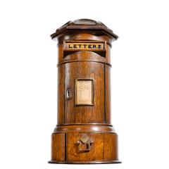 A Victorian oak country house letterbox by Rodrigues 1872 - 1506563