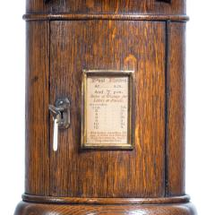 A Victorian oak country house letterbox by Rodrigues 1872 - 1506564