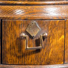 A Victorian oak country house letterbox by Rodrigues 1872 - 1506565