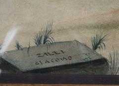 A Watercolor Of The Origin Of The Corinthian Column After Giacondo Albertolli - 1378685
