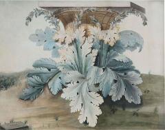 A Watercolor Of The Origin Of The Corinthian Column After Giacondo Albertolli - 1379718