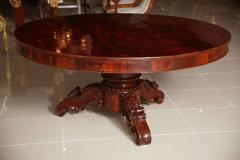 A William IV Mahogany Center Dining Table - 83368