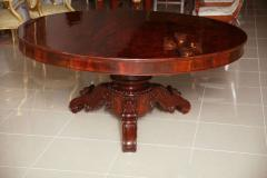A William IV Mahogany Center Dining Table - 83369