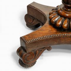 A William IV mahogany teapoy - 2134477
