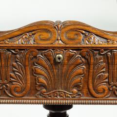 A William IV mahogany teapoy - 2134480