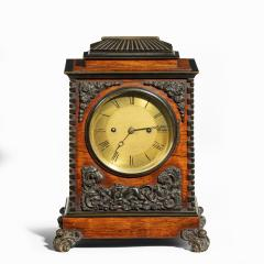A William IV rosewood and bronze bracket clock by Frodsham 185 Baker - 2038476