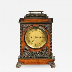 A William IV rosewood and bronze bracket clock by Frodsham 185 Baker - 2039051