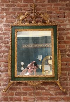 A carved and gold wall mirror Italy XIXth century - 755708