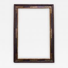 A dramatically large carved gilded and polychrome Spanish Baroque period frame  - 794905
