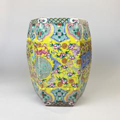 A fine 19th Century Chinese Famille Rose garden seat stool - 1602286