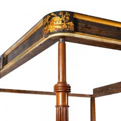 A fine George III Chinoiserie four poster bed firmly attributed to Gillows - 1188224